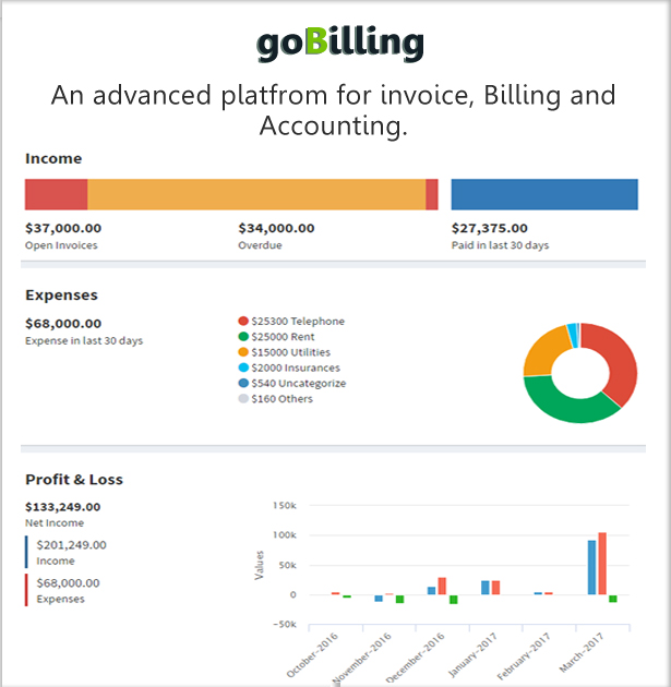 goBilling - Invoicing, Billing & Accounting System Download